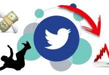 Acciones de Twitter caen un 18%