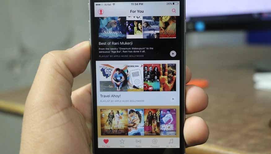 El servicio de streaming Apple Music supera en cifras de usuarios a Spotify en territorio Estadounidense.