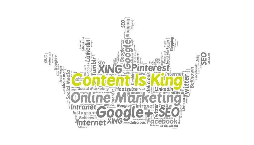 El contenido reina - Marketing de contenido