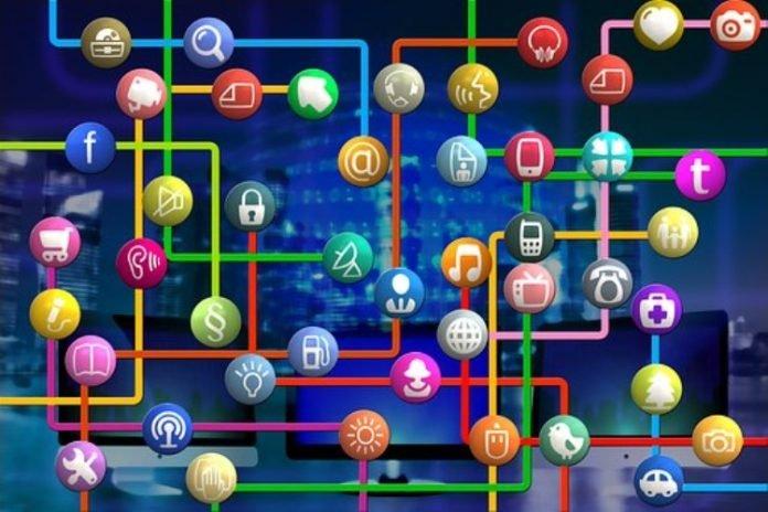 redes sociales en aumento