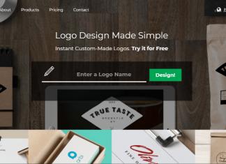 Website Tailor Brands simplifica tu logo