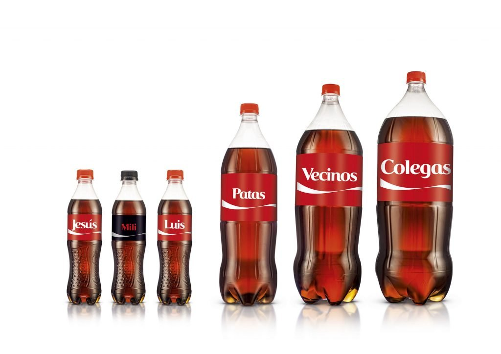 cocacola ejemplos de marketing directo