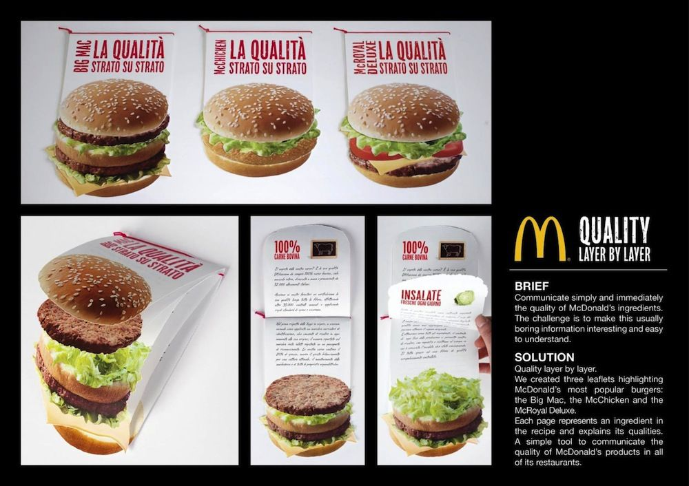 mcdonalds marketing directo