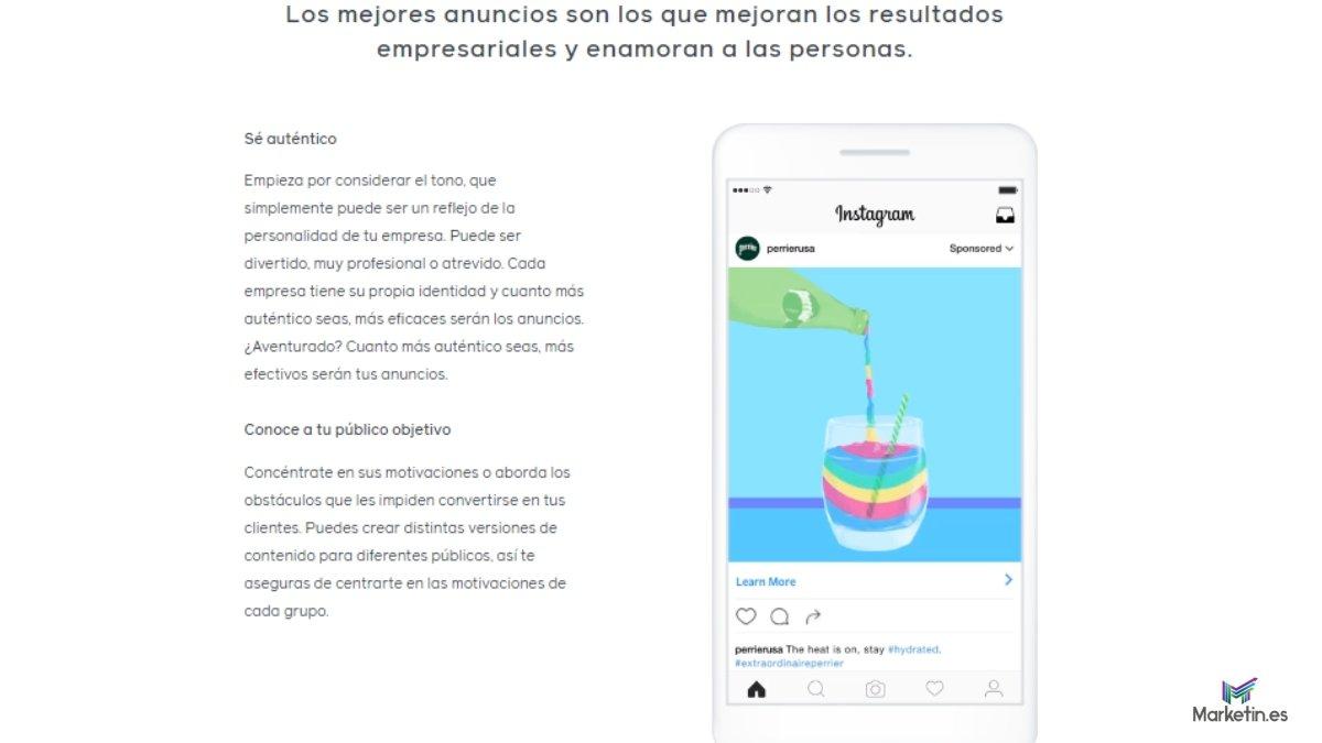 con facebook puedes integrar tus campañas en Instagram