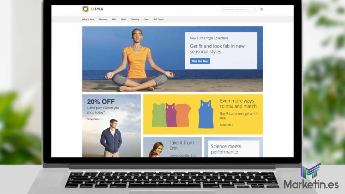 con Magento puedes diseñar la web a tu antojo